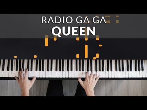Queen - Radio Ga Ga   Francesco Parrino Piano Cover Tutorial