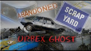 Abandoned Scrapyard,Rare Classics Left To Rot,Ford Capri Galore