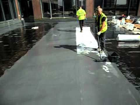 Kemperol 2k Cold Applied Liquid Waterproofing Over Laying