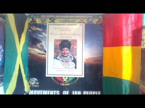 WINNIE  MANDELA REGGAE STAR NATURE SAYS FAREWELL TO YOU PT 1