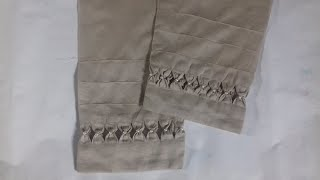 New latest trouser design cutting and sewing / new design trouser / trouser design sewing