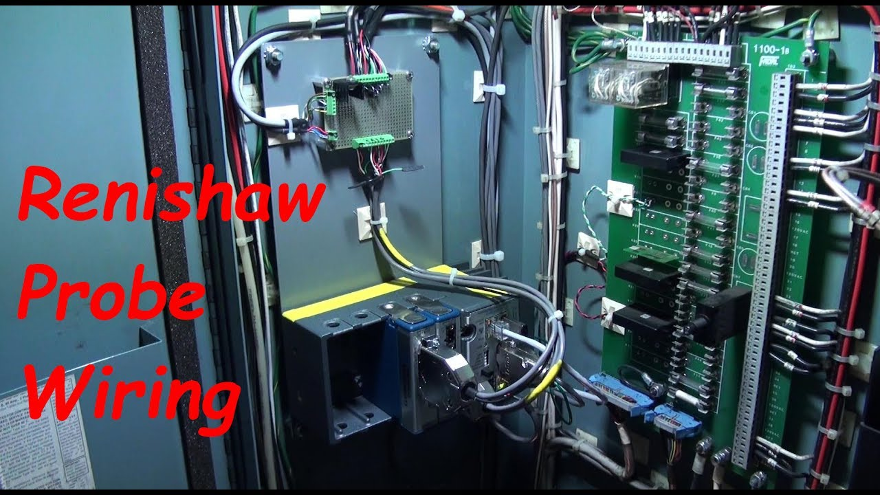 Wiring A Renishaw Probe System To A Fadal Cnc