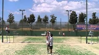 H24ソフトテニス全日本社会人 菅野・柴田vs村田・杉尾