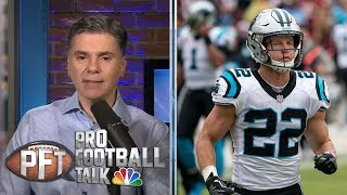 PFT Overtime: Replay review of PI is dead, McCaffrey vs. Kamara | Pro Football Talk | NBC Sports