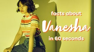 Vanesha Prescilla in 60 seconds!