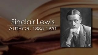 Sinclair Lewis: The Conscience Of His Generation, Sauk Center Mn