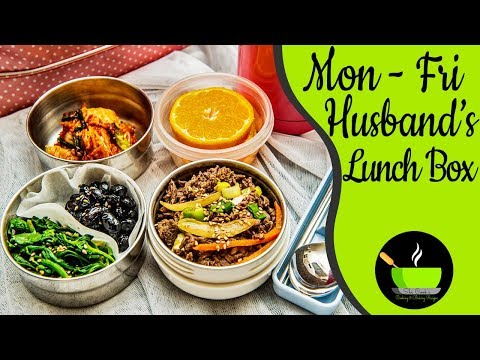 Husband's Lunch Box Mon-Fri | Indian Lunch Box Recipes For Office | Bachelors Lunch Box Ideas