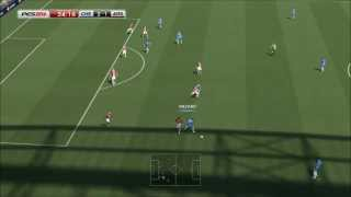 PES 2014 Pc Gameplay Chelsea Vs Arsenal Full Match [HD]