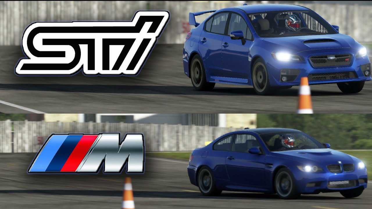 Top Gear - 2016 Subaru WRX STI vs 2009 BMW M3 E92 on the Track ...