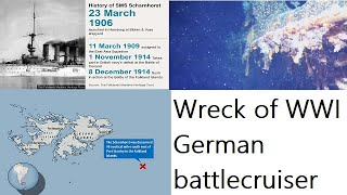 Discovery Wreck the battlecruiser ship The most mysterious and a critical naval battle in 1912