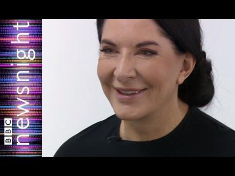 The shocking Marina Abramovich - BBC Newsnight
