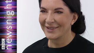 The shocking Marina Abramovich - BBC Newsnight