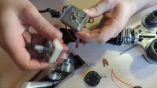 видео Устройство и ремонт паяльника