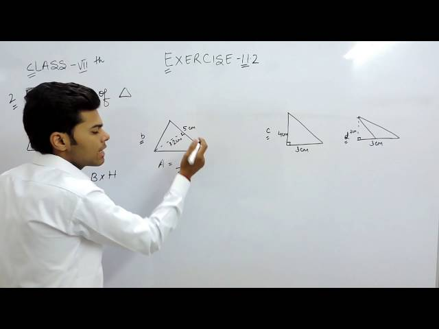 Exercise 11.2 - Question 2 (a,b,c,d) NCERT Solutions for Class 7th Maths Perimeter and Area