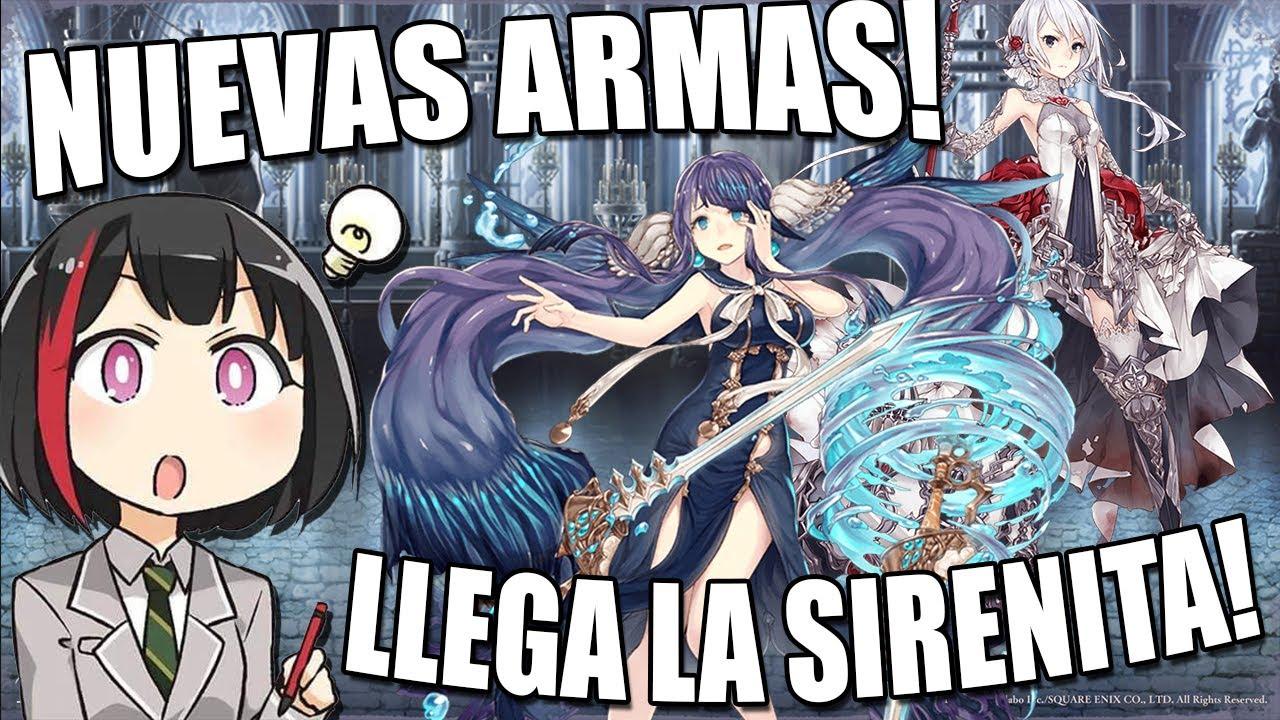 | SINoALICE | Semi-Analisis | NUEVA PERSONAJE ! La Sirenita ! | 2do Banner del Juego !