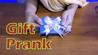 DIY Gift Prank Project for kids