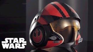 Star Wars - 'Black Series Poe Dameron Electronic Helmet' Designer Desk
