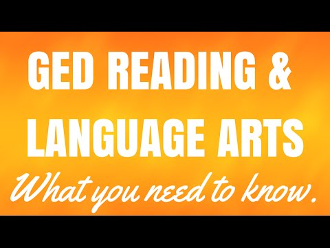 GED Reading & Language Arts Guide: #1 FREE GED Study Guide 2017