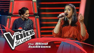 Hashini Dilshara - Mashup |Ananthayata Yana(අනන්තයට යන) ,Faded|Blind Auditions | The Voice Sri Lanka Thumbnail