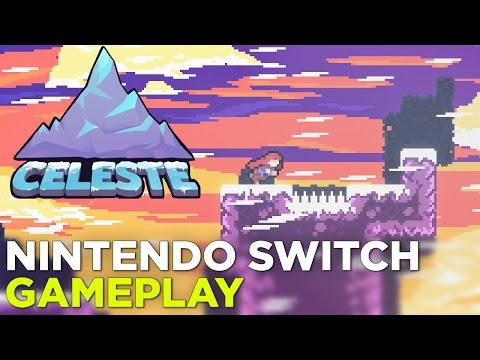 CELESTE Nintendo Switch Gameplay: Hard Mode (Forsaken City + Old Site)