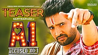 A1Teaser Official  | Accused No 1 Teaser - Reaction | Review | A1 Trailer | A1 - Santhanam Movie