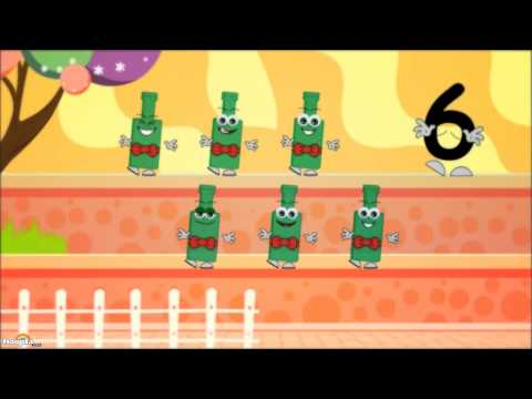 Ten Green Bottles - Nursery Rhymes Children songs