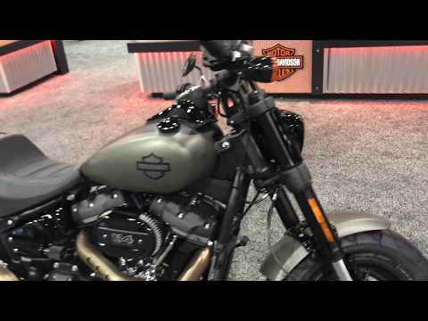 2018 Fat Bob 114 in Industrial Gray Denim | San Diego Harley-Davidson