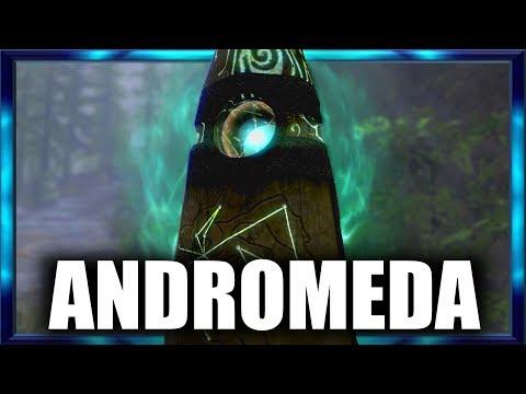 Skyrim - ALL NEW STANDING STONES - Andromeda Unique Standing Stones Mod