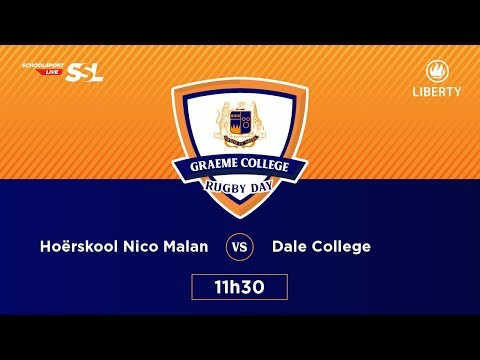 Graeme College Rugby Day - Hoerskool Nico Malan XV vs Dale College XV, 24 March