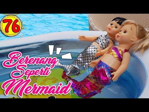 #76 Berenang Seperti Mermaid - Boneka Walking Doll Cantik Lucu -7L | Belinda Palace