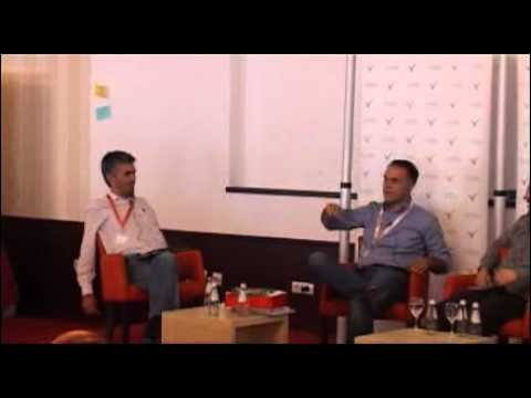 "Danube IT 2012 - Panel discussion ""Creating Successful High-tech Startups in Serbia"""