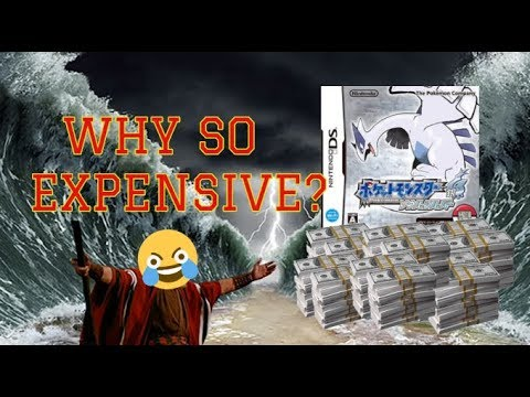 Why Is Pokemon SoulSilver And HeartGold So Expensive? (Awnsered)