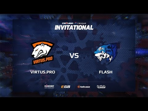 [EN] Virtus.pro vs Flash, map 1 cache, SL i-League Invitational Shanghai 2017