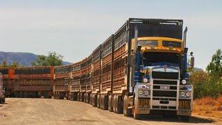 Грузовые автопоезда Самые длинные .Road Trains Australien. Дальнобой Австралия