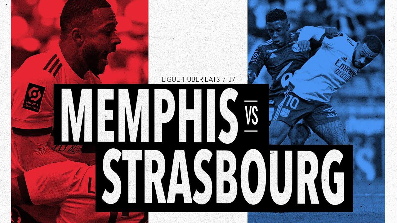 Memphis vs Strasbourg   Olympique Lyonnais