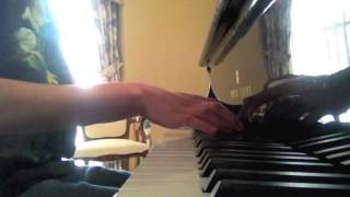 """Piano Cover: Moonrise Kingdom """"Songs from a Friday Afternoon Op. 7: Cuckoo"""""""