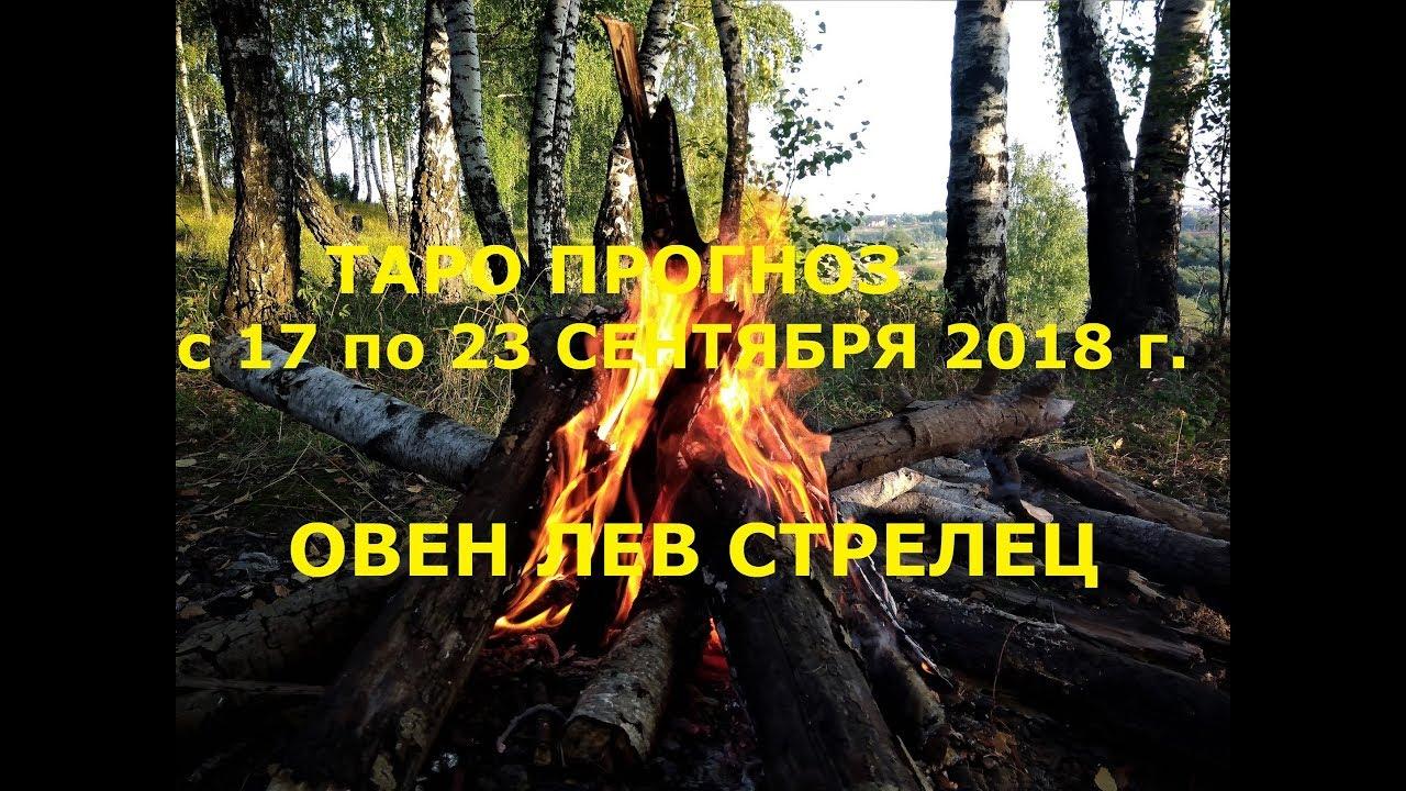 Таро прогноз на неделю с 17 по 23 сентября для Овнов, Львов и Стрельцов