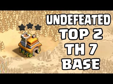NEW TH7 WAR BASE 2018 Anti 3 STAR | Town Hall 7 (TH7) WAR BASE CLASH OF CLANS