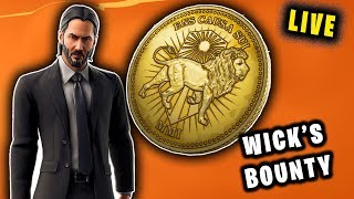 "Last Day WICK'S BOUNTY || Fortnite INDIA - Code ""QUASARGAMES"" ! Join"