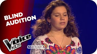 Andrea Bocelli  - Time To Say Goodbye (Solomia) | The Voice Kids 2015 | Blind Auditions | SAT.1(All the Angelic Voices of the Voice Kids Germany: http://bit.ly/TVK_AngelicVoices Subscribe to The Voice Kids and always see new clips first: ..., 2015-06-26T14:00:03.000Z)