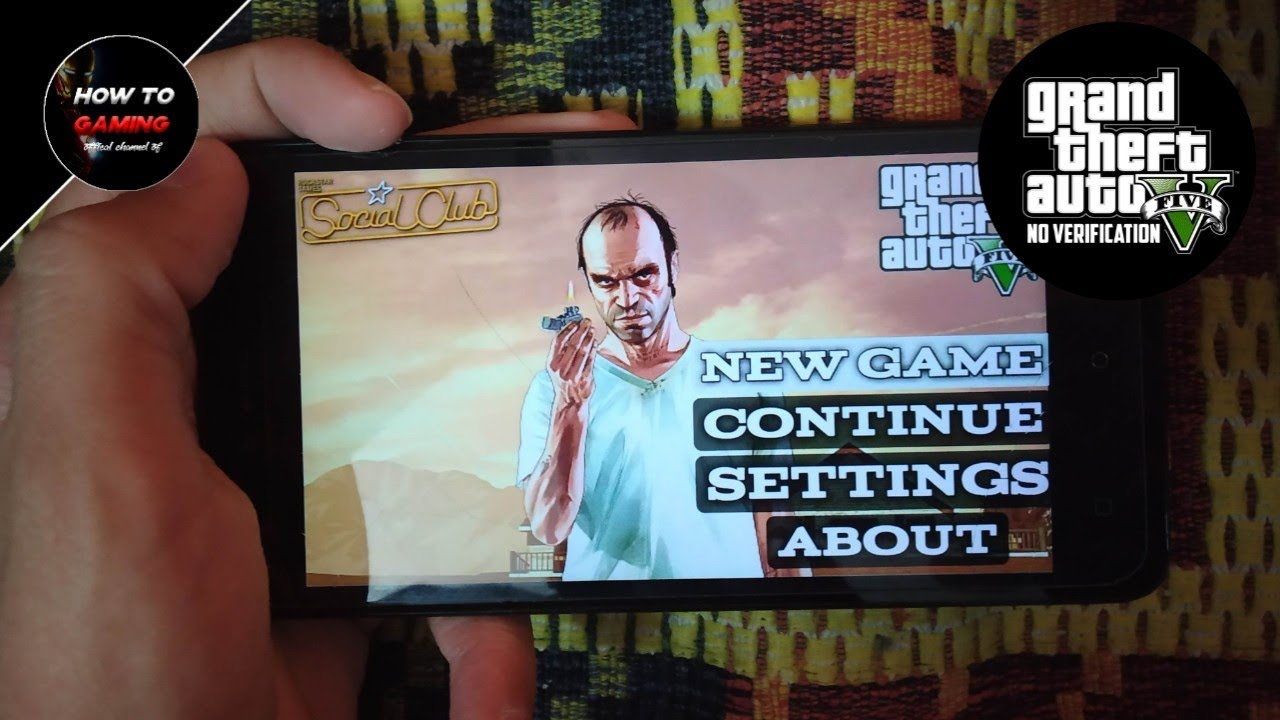 ||GTA 5 NEW NO VERIFICATION APK||HOW TO DOWNLOAD GTA 5 GAME ON  ANDROID||REAL||APK+DATA||