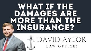 What if the damages are more than the insurance | Charleston SC Auto Accident Lawyer