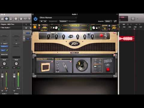 Peavey Revalver 4, My First Impressions, HQ Audio !