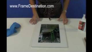 Wood Picture Frame Assembly For Frame Destination Picture Frames