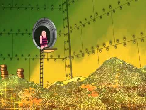 Peter dives into room full of Gold coins - YouTube
