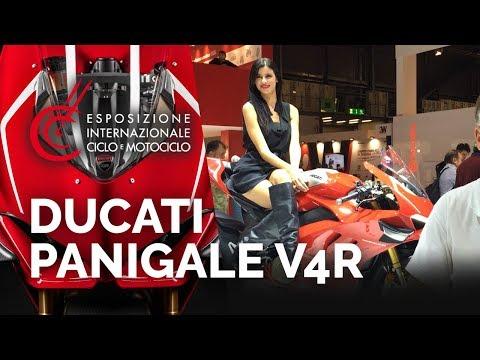 Ducati Panigale V R - Salon EICMA - nouveautés
