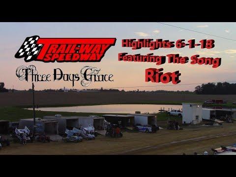 Trail-Way Speedway Highlights 6-1-18