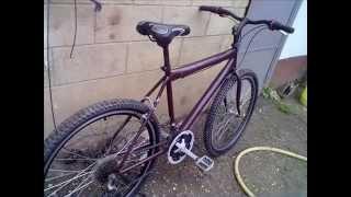 Собрали велосипед из старой ржавой рамы