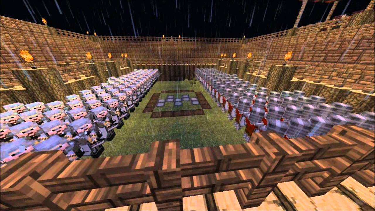 Minecraft army base command block command