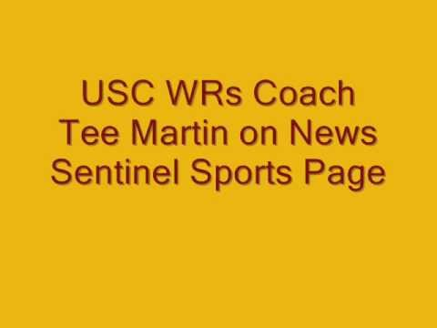 USC Assistant Tee Martin on WNML